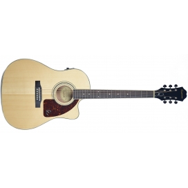 EPIPHONE AJ-220SCE SOLID TOP NATURAL