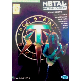 STETINA METAL RHYTHM GUITAR V.2 + CD ITALIANO