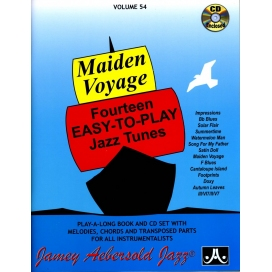 AEBERSOLD MAIDEN VOYAGE VOLUME 54 + CD ITA