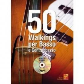 TAZZINO 50 WALKINGS PER BASSO E CONTRABBASSO + CD ML3669