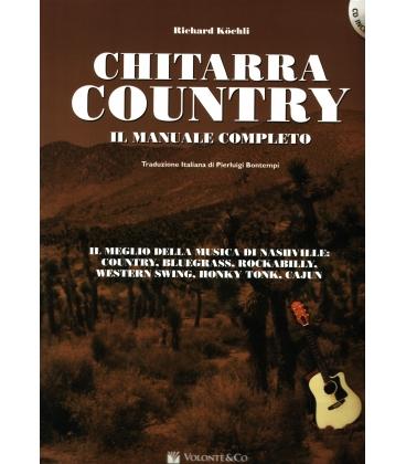 KOCHLI CHITARRA COUNTRY + CD - MANUALE COMPLETO MB342