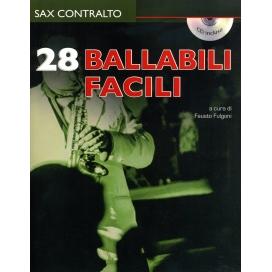 FULGONI BALLABILI FACILI PER SAX ALTO + CD