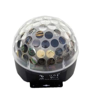 FLASH LED MAGIC BALL 3X3 CON MP3