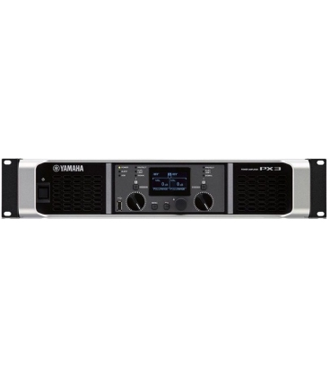 YAMAHA PX3 STEREO POWER AMPLIFIER 2X500W/4 OHMS WITH DSP