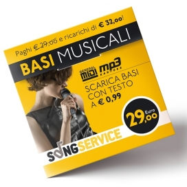 M-LIVE SONGNET EURO 29,00 CARD PREPAGATA