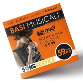 M-LIVE SONGNET €59 CARD PREPAGATA