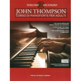 THOMPSON CORSO PIANO PER ADULTI VOLUME 2 + CD
