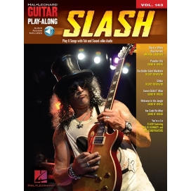 SLASH GUITAR PLAY ALONG + AUDIO ON-LINE