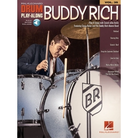 BUDDY RICH DRUM PLAY ALONG + AUDIO ON-LINE