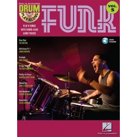 AAVV DRUM PLAY ALONG FUNK + CD
