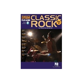AAVV DRUMS PALY ALONG CALSSIC ROCK + CD