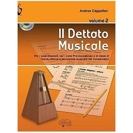 CAPPELLARI IL DETTATO MUSICALE VOLUME 2 + CD