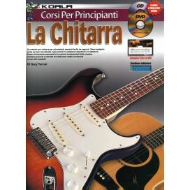 TURNER CORSO PER PRINCIPIANTI - LA CHITARRA - SERIE KOALA + CD MLC2569