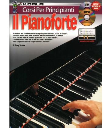 TURNER CORSO PER PRINCIPIANTI - IL PIANOFORTE - SERIE KOALA + CD MLC2499