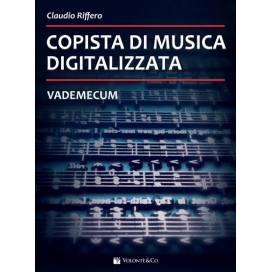 RIFFERO COPISTA DI MUSICA DIGITALIZZATA - VADEMECUM - MB603