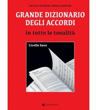 BONAFEDE GRANDE DIZIONARIO DEGLI ACCORDI IN TUTTE LE TONALITA' - MB627