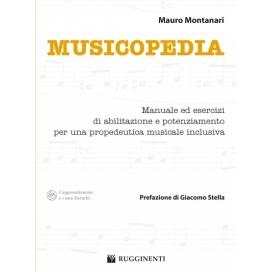 MONTANARI MUSICOPEDIA - MANUALE DI PROPEDEUTICA MUSICALE