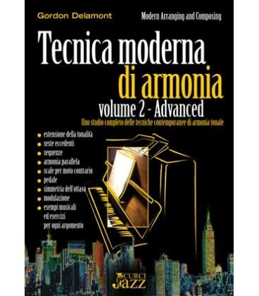 DELAMONT TECNICA MODERNA DI ARMONIA - ADVANCED VOLUME 2 EC020015
