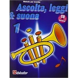 KASTELEIN/BOTMA ASCOLTA LEGGI SUONA - TROMBA VOLUME 1 + CD