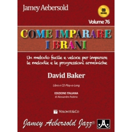 AEBERSOLD COME IMPARARE I BRANI - VOLUME 76 + CD MB372