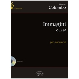 COLOMBO IMMAGINI OPERA 480 PER PIANOFORTE + CD