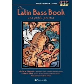 STAGNARO/SHER THE LATIN BASS BOOK + 3 CD