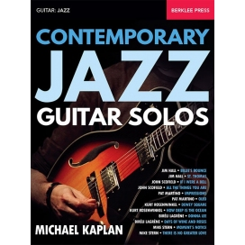 KAPLAN CONTEMPORARY JAZZ GUITAR SOLOS