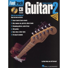 AAVV FAST TRACK GUITAR 2 - METHOD