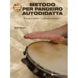 STAFFA METODO PANDEIRO AUTODIDATTA + CD