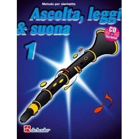 KASTELEIN ASCOLTA LEGGI SUONA CLARINETTO V. 1 + CD D02373400