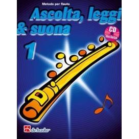 KASTELEIN ASCOLTA LEGGI SUONA - FLAUTO VOLUME 1 + CD