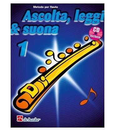 KASTELEIN ASCOLTA LEGGI SUONA FLAUTO V. 1 + CD DHK447