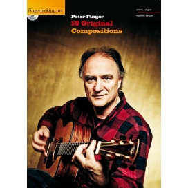 FINGER 10 ORIGINAL COMPOSITIONS FINGERPICKING + CD ML99024