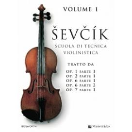 SEVCIK SCUOLA TECNICA VIOLINISTICA VOLUME 1