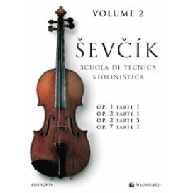 SEVCIK SCUOLA TECNICA VIOLINISTICA VOLUME 2