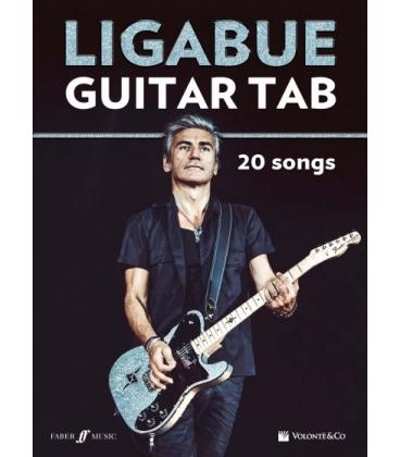 LIGABUE GUITAR TAB - 20 SONGS - MB574