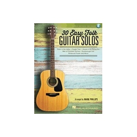 30 EASY FOLK GUITAR SOLOS HL00158098