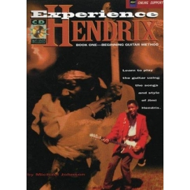 HENDRIX EXPERIENCE BOOK ONE - BEGINNING GUITAR METHOD + CD