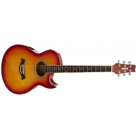ADONIS FG259CE-YS FOLK CUTAWAY EQ YELLOW SUNBURST