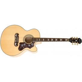 EPIPHONE EJ-200CE NATURAL GOLD HARDWARE