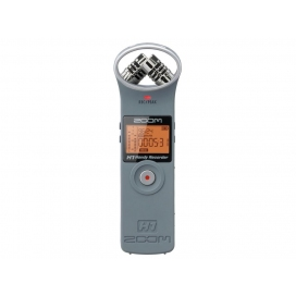 ZOOM H1-MG GRIGIO REGISTRATORE DIGITALE PALMARE