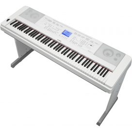 YAMAHA DGX660WH DIGITAL PIANO WHITE CON MOBILE