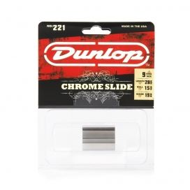 JIM DUNLOP 221 SI SLIDE CHROME KN MEDIUM