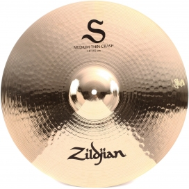 "ZILDJIAN S 18"" MEDIUM THIN CRASH"