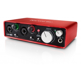 FOCUSRITE SCARLETT 2i2 2nd GENERATION