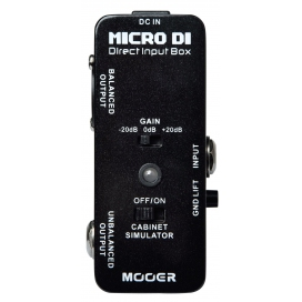 MOOER MICRO DI DIRECT INPUT BOX