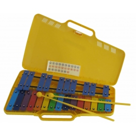 ANGEL AX25N3 GLOCKENSPIEL CROMATICO PIASTRE COLORATE