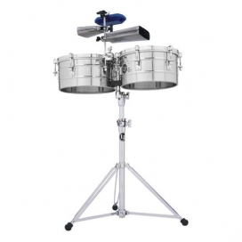 LP 256-S TIMBALES ACCIAIO 13/14""