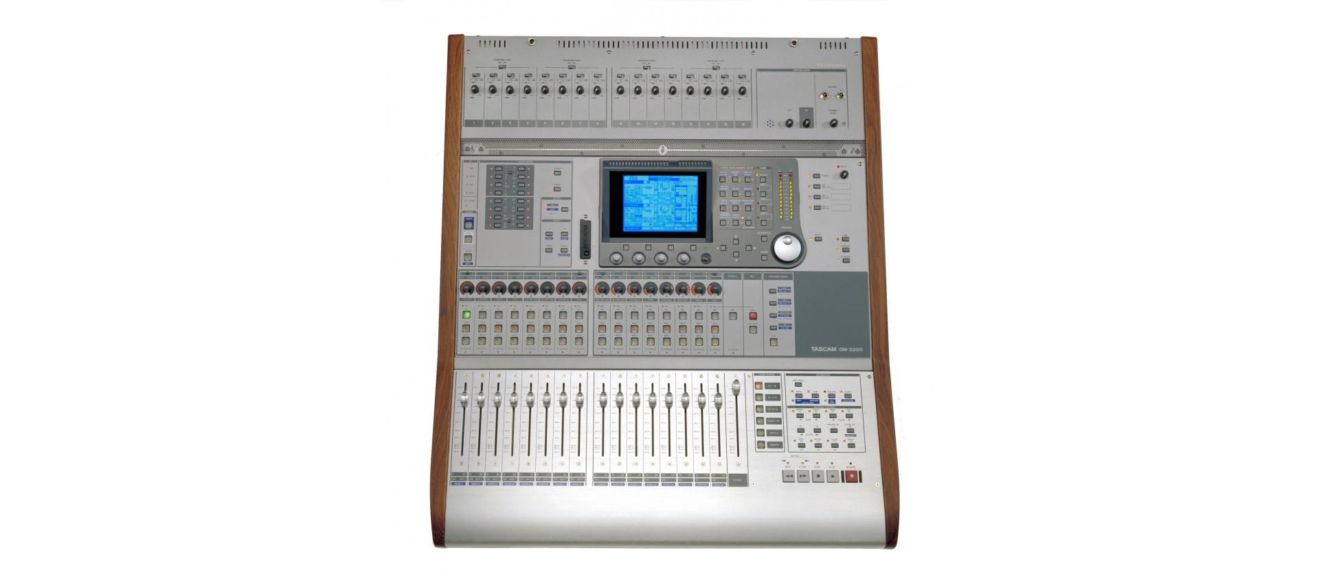 tascam dm3200 digital mix luckymusic. Black Bedroom Furniture Sets. Home Design Ideas