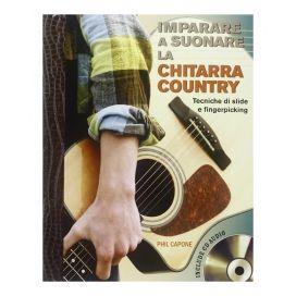 CAPONE IMPARARE A SUONARE LA CHITARRA COUNTRY + CD